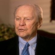 Gerald Ford discusses Max Fisher's effectiveness.