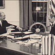 Peter Golden, Max Fisher's biographer, discusses Fisher's influence with President Ford.