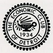 """Detroit Renaissance: A Decade of Progress and A Commitment to the Future,"" 1981 address by Max M. Fisher, Chairman of the Board, Detroit Renaissance, Inc."