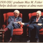 On October 21, 1998, the Columbus Dispatch published a full page article on the opening of the new Max M. Fisher College of Business.