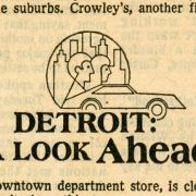 "Milwaukee Journal article entitled ""Detroit Refuses to Give Up"" about the Detroit Renaissance."