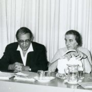 Max Fisher, Golda Meir and others