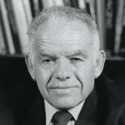 Yitzhak Shamir, the seventh Prime Minister of Israel
