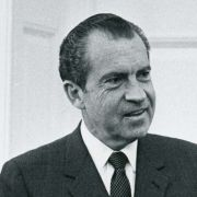 Max Fisher with Richard Nixon in the White House