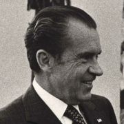 A signed photograph from President Richard Nixon