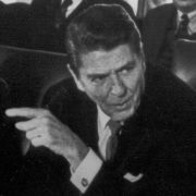 Max Fisher meets with President Reagan about AWACS sales to Saudi Arabia