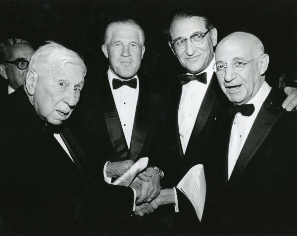 American Jewish Committee dinner - April 20, 1967
