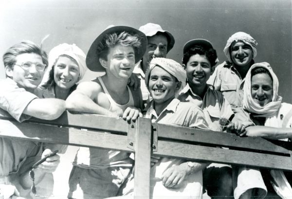 New immigrants to Israel in 1950