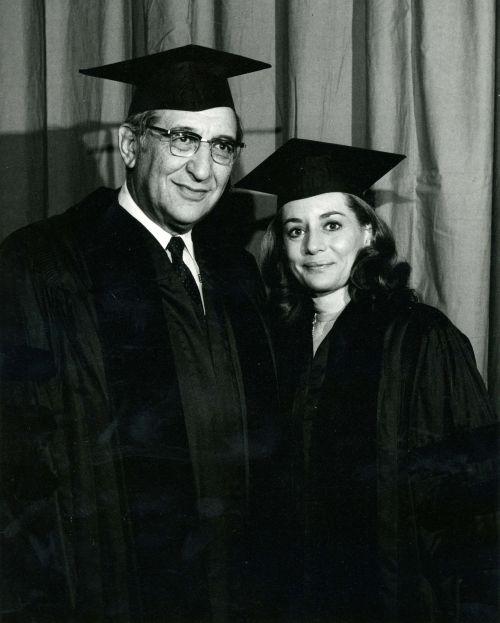 Barabara Walters and Max Fisher