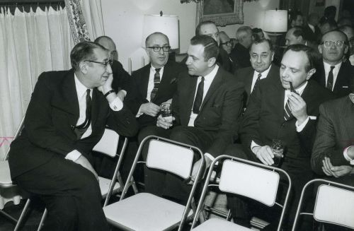 Max Fisher and other Jewish Welfare Federation Pacesetters in 1965.