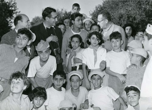Israeli children in 1954